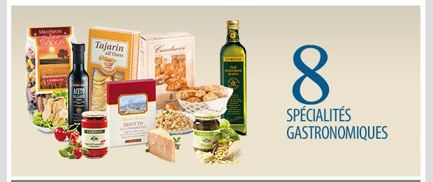8 specialites gastronomiques