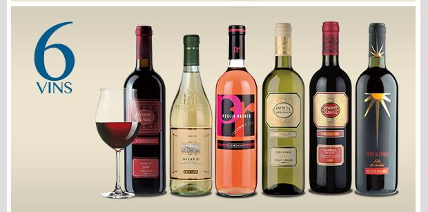 6 vins