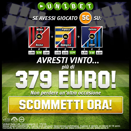Bonus Scommesse fino a 100 Euro!
